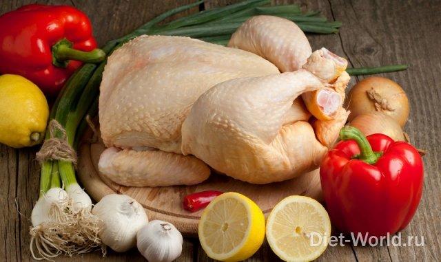 Куриное мясо, с чем его сочетать?