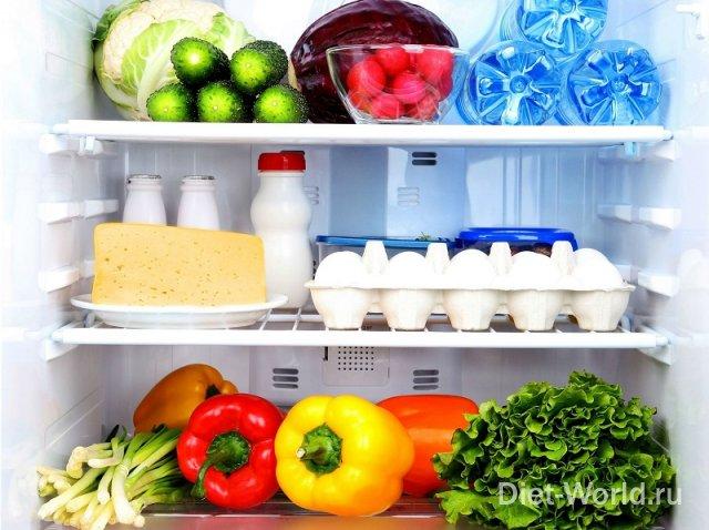 Продукты, которые нельзя хранить в холодильнике!