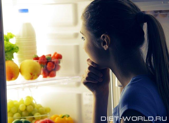 Как избавиться от привычки есть на ночь?
