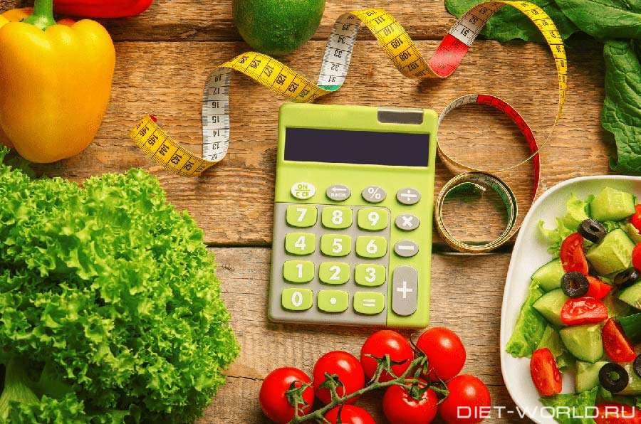 Сколько калорий нужно потреблять,чтобы терять вес?